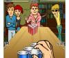 เกมส์ตลก โยนลูกอมลงแก้ว