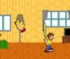 เกมส์ต่อสู้ เด็กตีไก่ที่เข้ามาในบ้านของเรา