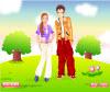 เกมส์แต่งตัว สองหนุ่มสาวคู่รักคู่ใหม่