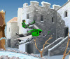 เกมส์กีฬา เอ็กตรีมรถสกีที่วิ่้งในหิมะแสนมัน