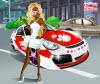 เกมส์แต่งตัว ผู้หญิงดำปิ๊ดปี๊กับรถสปอร์ตสุดสวย