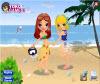 เกมส์แต่งตัว สาวสวยไปเล่นน้ำที่ทะเลแสนสวยกับเพื่อนสาว