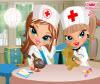 เกมส์แต่งตัว สองสาวพยาบาลรักษาสัตว์
