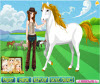 เกมส์แต่งตัว สาวสวยเลี้ยงม้าในฟาร์มม้าแสนสนุก
