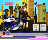 เกมส์แต่งตัว ตำรวจสาวสวยจับผู้ร้ายในเมือง