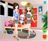 เกมส์แต่งตัว สองสาวฝาแฝดแสนสวยและน่ารัก