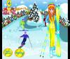 เกมส์แต่งตัว สาวสวยแต่งตัวไปเล่นสกีหิมะแสนสนุก