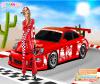 เกมส์แต่งตัว สาวสวยนักแข่งรถแสนสวยและรถสุดแรง