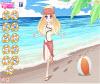 เกมส์แต่งตัว สาวสวยวิ่งเล่นบนหาดทรายขาวๆแสนสวย