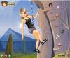 เกมส์แต่งตัว สาวสวยเล่นกีฬาเอ็กซ์ตรีมปีนเขาสุดมัน