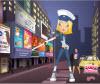 เกมส์แต่งตัว ตำรวจจราจรสาวสวยยืนโบกรถบนถนน