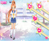 เกมส์แต่งตัว นักเรียนญี่ปุ่นสาวสวยแต่งตัวน่ารัก