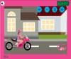 เกมส์แอบ แอบแต่งหน้าตอนขี่มอเตอร์ไซค์บนถนน