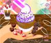 เกมส์ทำอาหาร คัพเค้กแต่งหน้าให้หน้าทานบนโต๊ะ