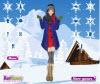 เกมส์แต่งตัว สาวสวยในเมืองหิมะที่หนาวเหน็บ