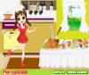 เกมส์แต่งตัว แม่ครัวสาวสวยที่ทำอาหารอยู่ในครัว