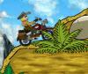 เกมส์แข่งรถ ขี่มอร์เตอร์ครอสสุดแรงในป่าหรรษาแสนสนุก