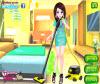 เกมส์แต่งตัว สาวสวยแต่งตัวทำความสะอาดบ้าน