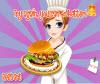 เกมส์ทำอาหาร ทำแฮมเบอร์เกอร์หรรษาแสนอร่อย