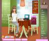 เกมส์แต่งตัว สาวสวยนั่งกินกาแฟที่ร้านกาแฟแสนอร่อย