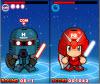เกมส์เต้น หุ่นยนต์เต้นต่อสู้สุดมัน