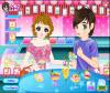 เกมส์แต่งตัว สาวสวยไปนั่งกินไอติมกับแฟนหนุ่มสุดหล่อ