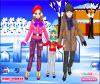เกมส์แต่งตัว ครอบครัวอบอุ่นไปเที่ยวที่มีหิมะหนาวมากๆ