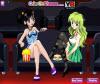 เกมส์แต่งตัว สองสาวสวยนั่งดูหนังในโรงภาพยนต์