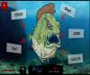 เกมส์ต่อสู้ ปลาปีรันย่ากินคนที่พายเรือมาบนน้ำสุดโหด
